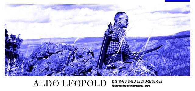 Aldo Leopold graphic