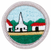 Citizenship in the Community Merit Badge Patch