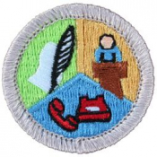 Communications Merit Badge Patch