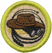 Exploration Merit Badge Patch