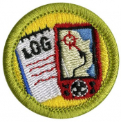 Geocaching Merit Badge Patch