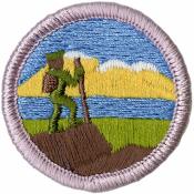 Hiking Merit Badge Patch