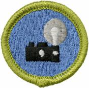 Photography Merit Badge Patch