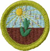 Plant Science Merit Badge Patch