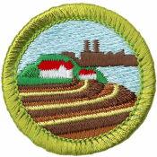 Soil & Water Conservation Merit Badge Patch