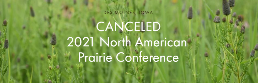 2021 North American Prairie Conference canceled
